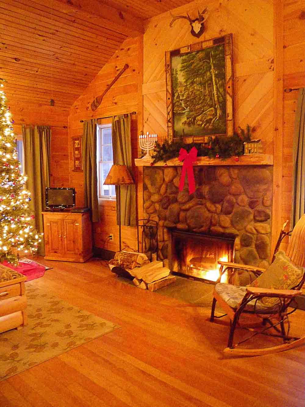 Pine Cottage In Winter!