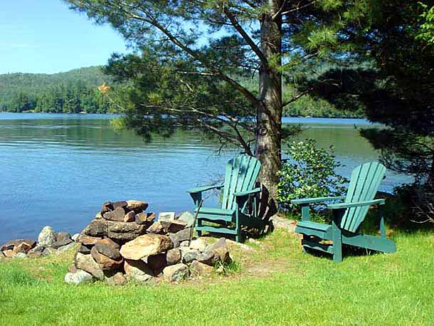 Pull Up Some Adirondack Chairs For A Blissful Night Around The Campfire,  Serenaded By Loons, Coyotes And Brush Wolves Beneath A Blanket Of Stars.
